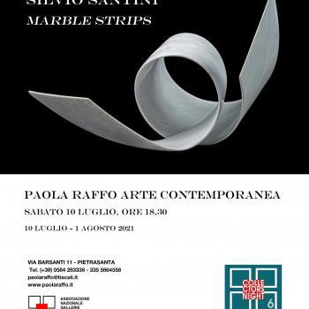 "Silvio Santini ""Marble Strips"""